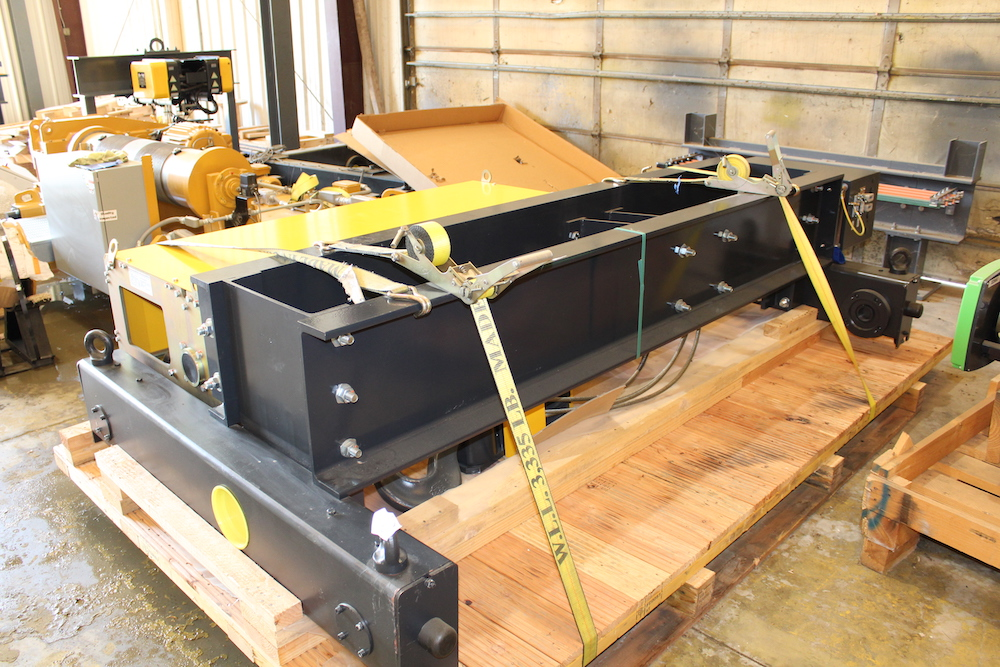 For Sale: Street Crane Company, LTD 25 Ton Capacity (50,000 lbs) Electric Wire Rope Hoist / Trolley
